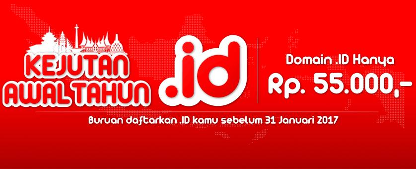 Kejutan awal tahun domain .ID