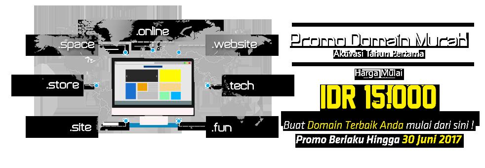 Promo Domain Murah Maret 2017