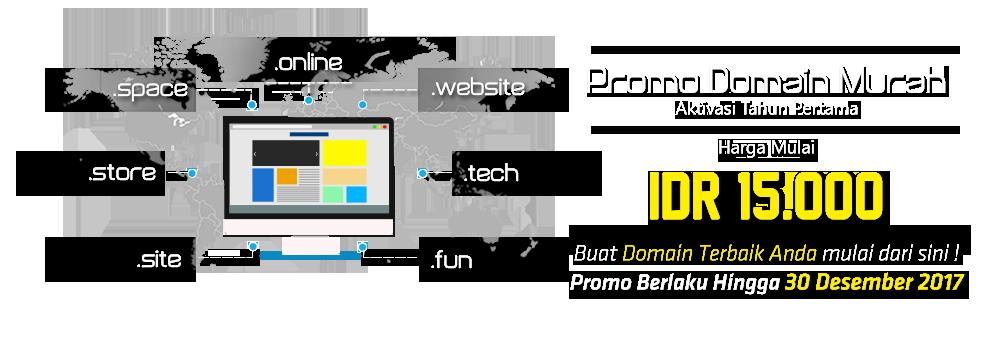 Promo Domain Murah Rumahweb